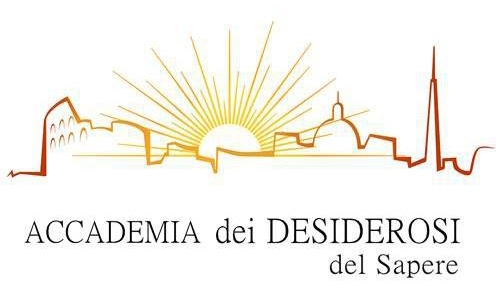 "Logo of the Accademia dei Desiderosi del Sapere. I pomeriggi a Sala Margana. Thursday 7 November 2019 at 5:30 PM : ""Un avvenimento epocale intorno a Papa Boncompagni"" Sala Margana - Piazza Margana, 41 - Rome. Admission Fee: € 12. A reservation is required. Contact phone 3394150479."