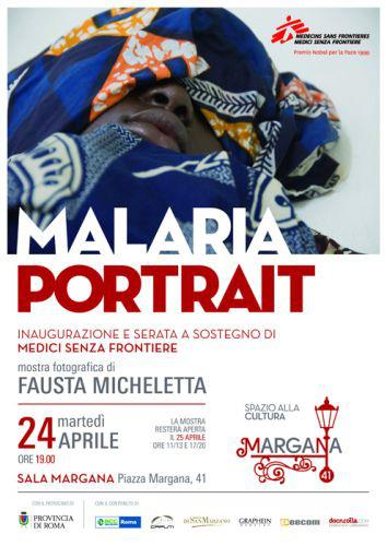 poster dell'evento Malaria Portrait