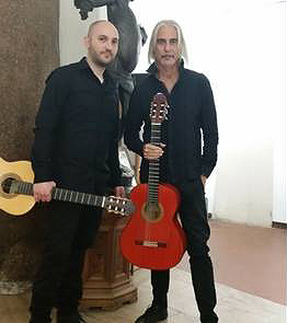 Locura de Guitarras: Concert at Sala Margana, Saturday 16 December 2017, at 7:30 pm. A reservation is required, by phoning 3483704247
