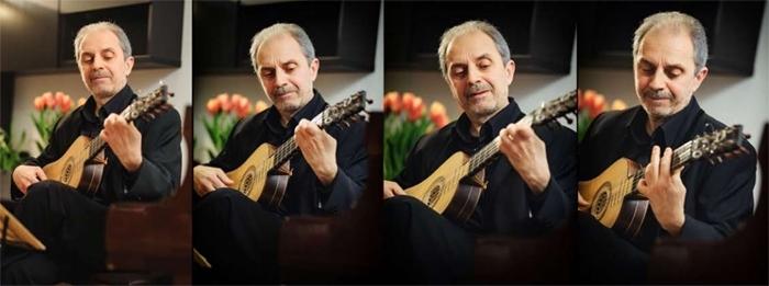 Associazione Culturale Ottavia presenta il concerto di Rosario Cicero per chitarra barocca DANZAS DE RASGUEADO Y PUNTEADO, a Sala Margana domenica 11 febbraio 2018, dalle ore 18. Info e prenotazioni al 339 3406573 e 347 6230430