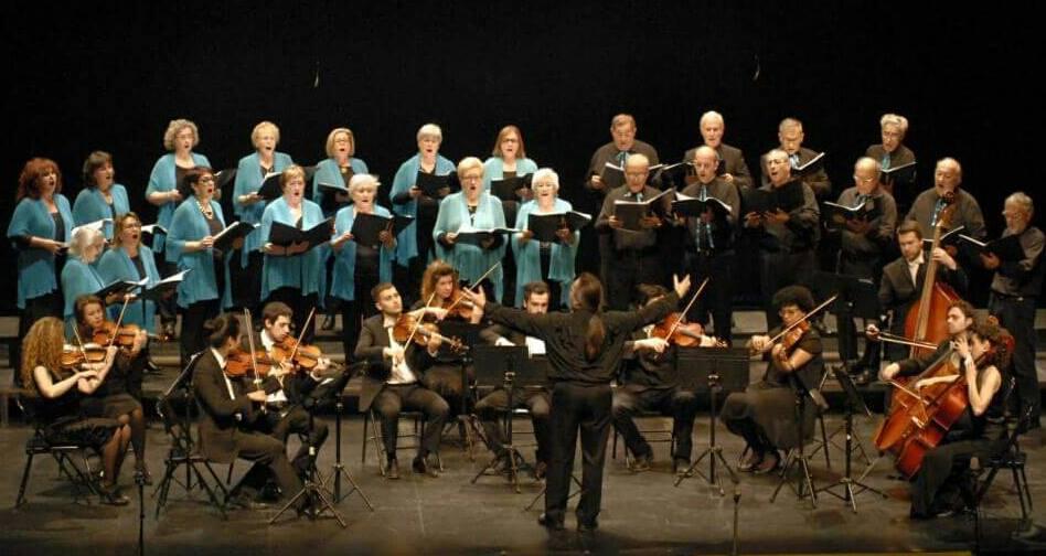 Concerto di musica corale a cappella del coro Orfeò de l'Empordà. Repertorio di musica tradizionale catalana